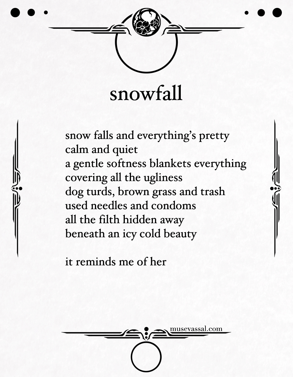 82 snowfall